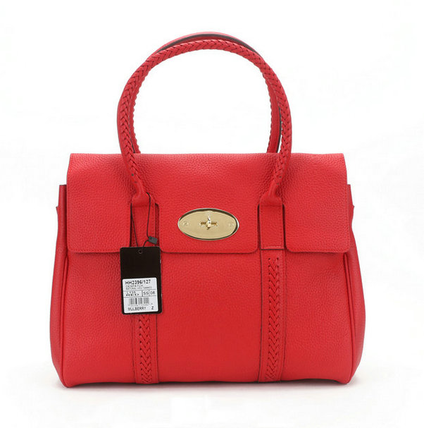 Mulberry Pembridge Bayswater Bag Red Leather