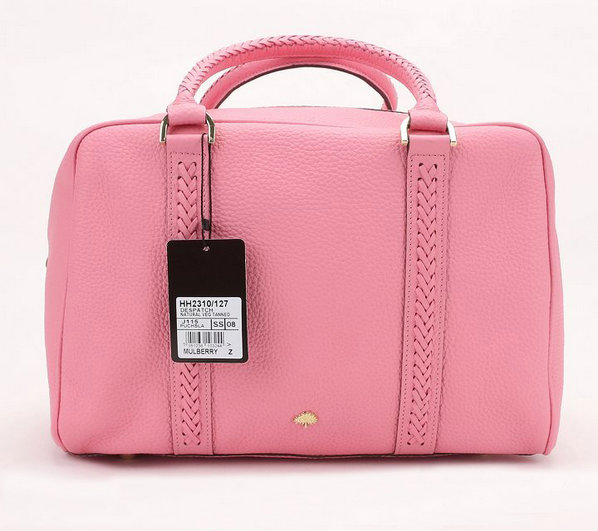 Mulberry Pembridge Clipper in Pink Soft Leather