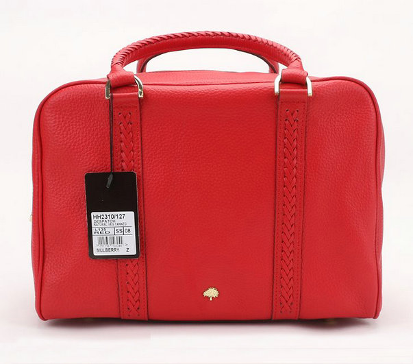 Mulberry Pembridge Clipper in Red Soft Leather