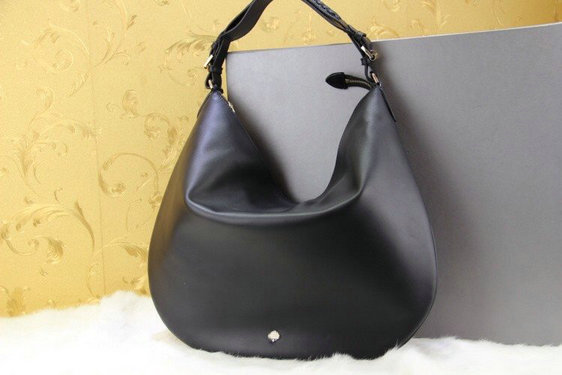 2014 New Mulberry Pembridge Hobo in Black Soft Leather