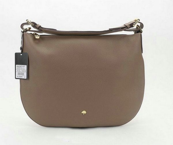 2014 New Mulberry Pembridge Hobo in Taupe Soft Leather