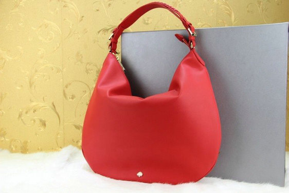 2014 New Mulberry Pembridge Hobo in Red Soft Leather