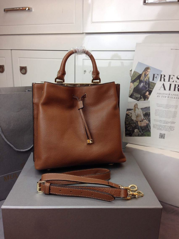 2014 Autumn/Winter Mulberry Small Kensington Bag in Oak Grained Leather