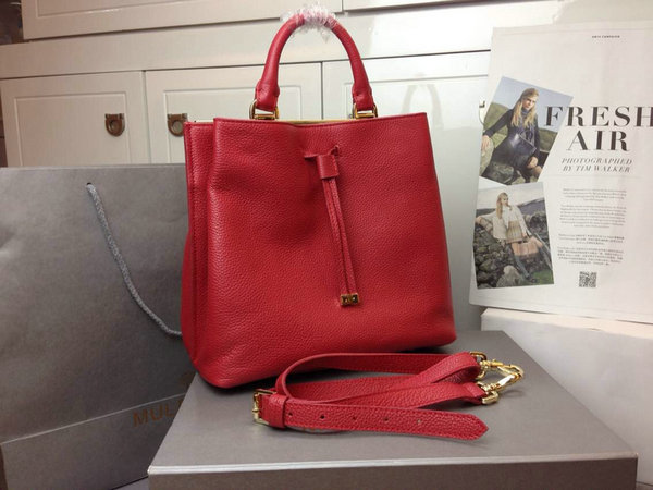 2014 Autumn/Winter Mulberry Small Kensington Bag in Poppy Red Grained Leather