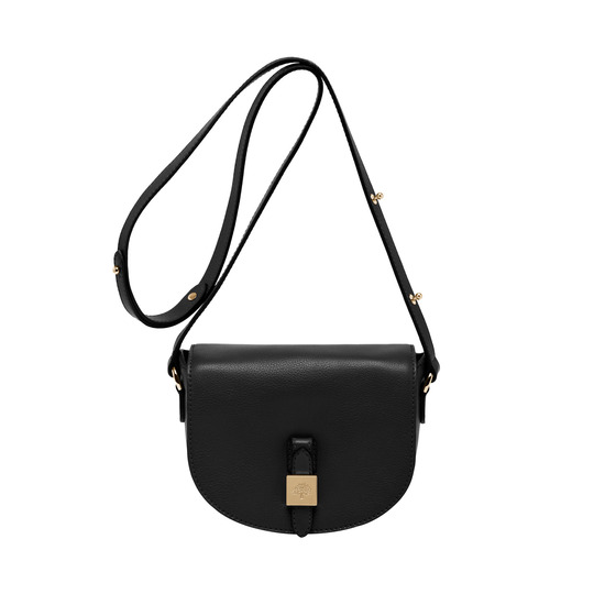 2014 Latest Mulberry Tessie Small Satchel in Black Soft Leather