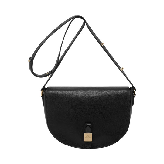 2014 Latest Mulberry Tessie Satchel in Black Soft Leather
