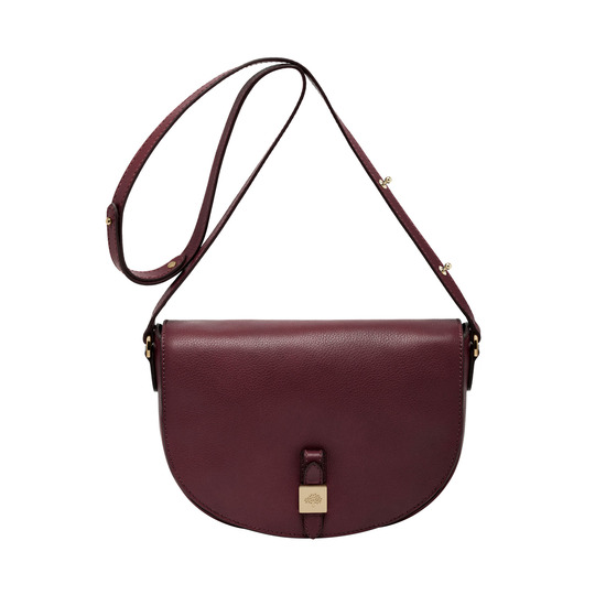 2014 Latest Mulberry Tessie Satchel in Oxblood Soft Leather