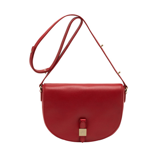 2014 Latest Mulberry Tessie Satchel in Poppy Red Soft Leather