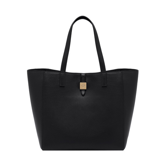 2014 Latest Mulberry Tessie Tote in Black Soft Leather