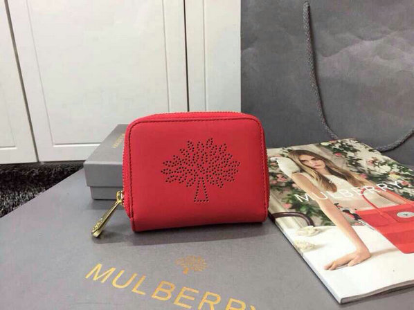 2015 Latest Mulberry Blossom Zip Around Purse 312332 in Hibiscus