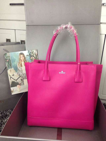 2015 Spring Mulberry Arundel Tote Bag in Mulberry Pink Calf Nappa Leather