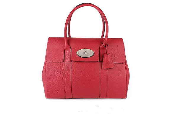 2015 New Mulberry Bayswater Hibiscus Small Classic Grain with Soft Gold