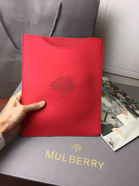 2015 Latest Mulberry Blossom iPad Cover in Hibiscus Leather