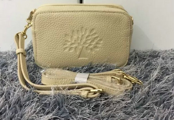 2015 Mulberry Effie Leather Pouch with Wrist & Shoulder Strap
