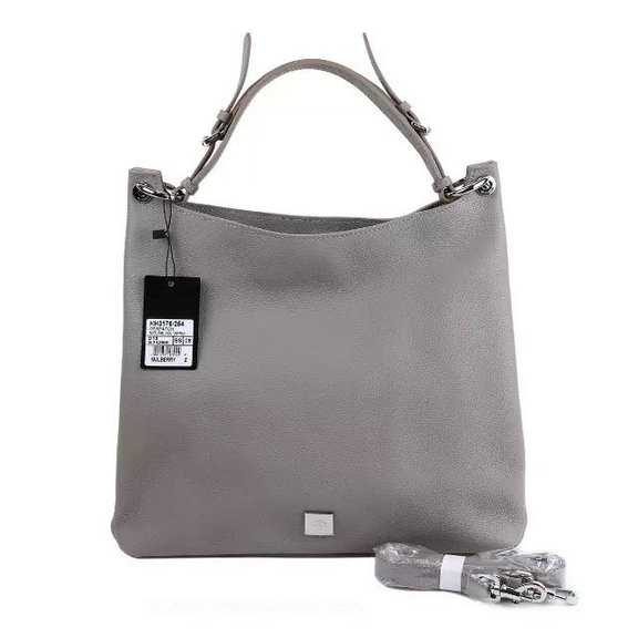2015 A/W Mulberry Leather Freya Hobo in Grey