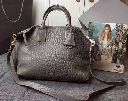 2015 Discount Mulberry Oversized Alice Zipped Tote Grey Shrunken Calf