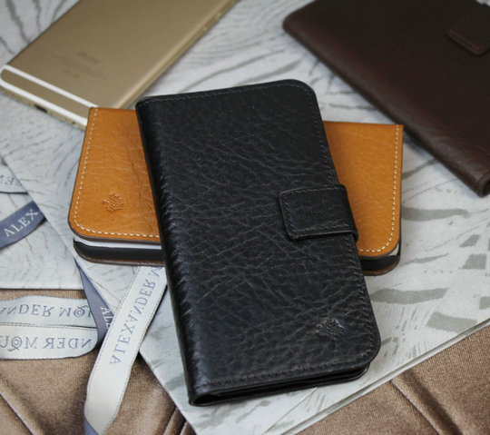 2015 Cheap Mulberry Leather Case for iPhone 6/iPhone 5S