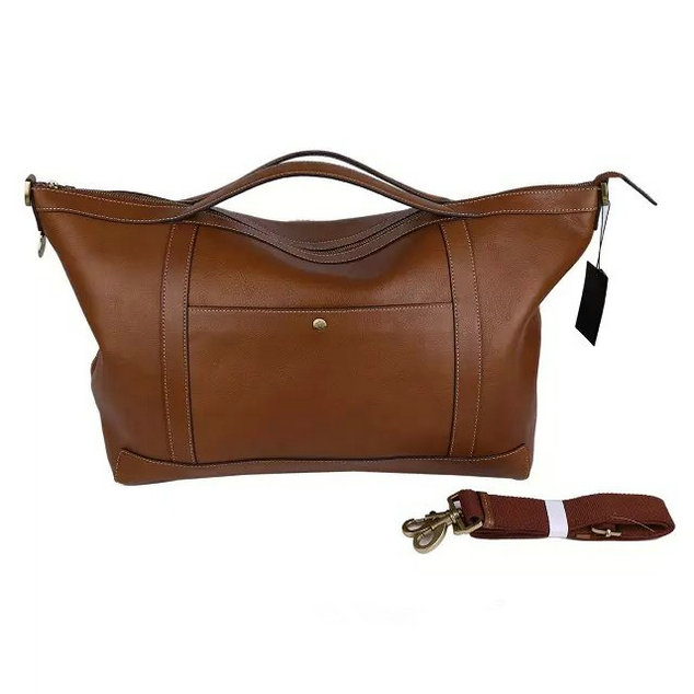 2015 Men's Mulberry Multitasker Holdall Camel Leather