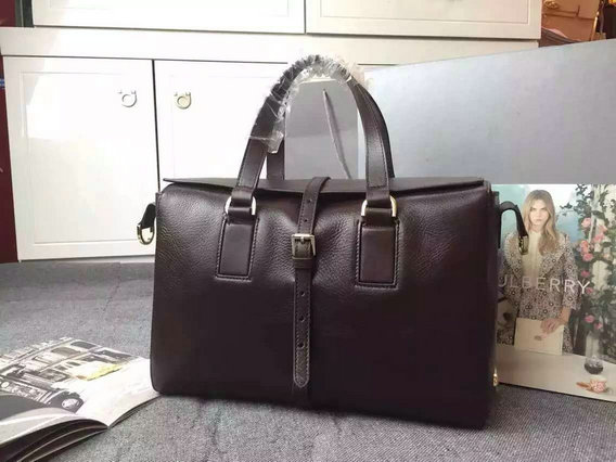 2015 Fall/Winter Mulberry Roxette Satchel Bag in Chocolate Leather