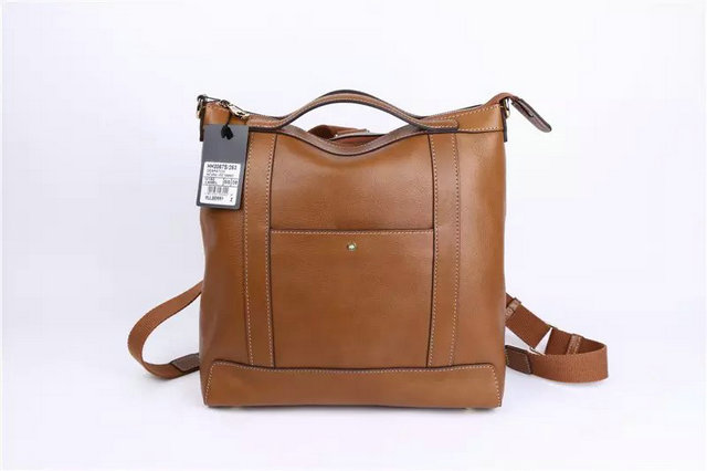 2015 Men's Mulberry Small Multitasker Backpack in Camel Leather