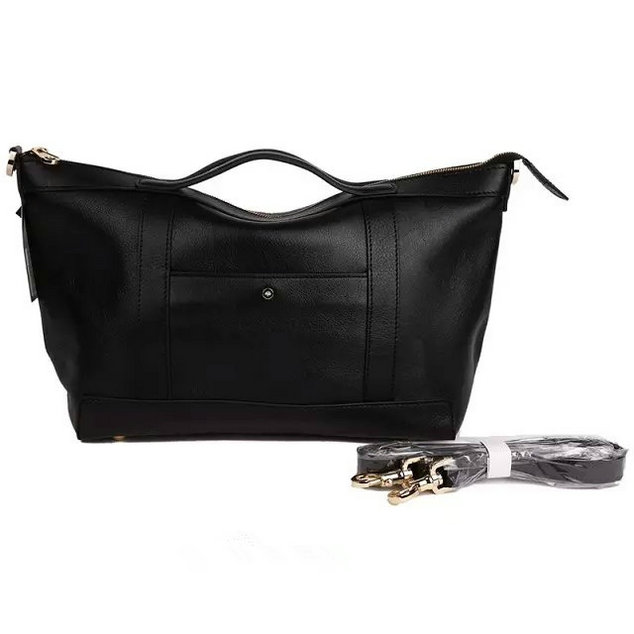 2015 Men's Mulberry Small Multitasker Holdall Black Leather