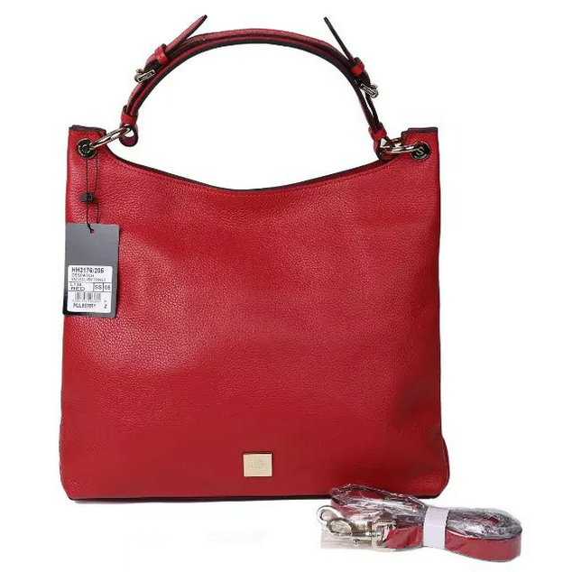 2015 A/W Mulberry Leather Freya Hobo in Red