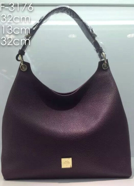 2015 A/W Mulberry Leather Freya Hobo in Purple