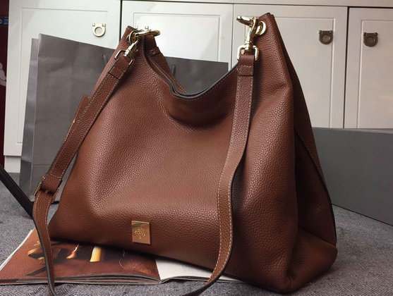 2015 A/W Mulberry Leather Freya Hobo in Oak