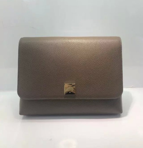 2015 A/W Mulberry Freya Satchel Bag in Taupe Leather