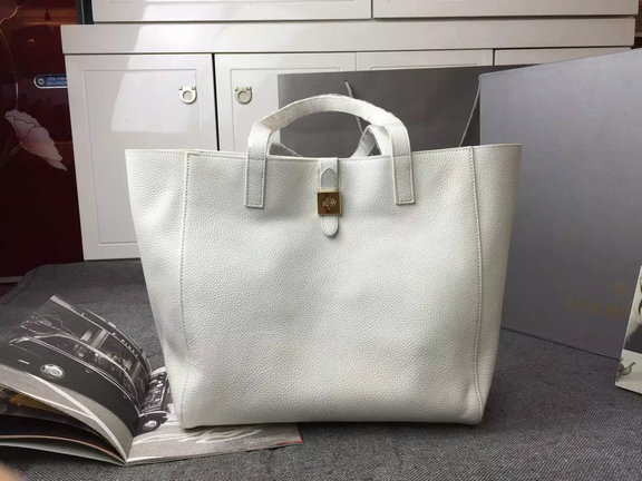 2015 Latest Mulberry Tessie Tote in Cream Soft Leather