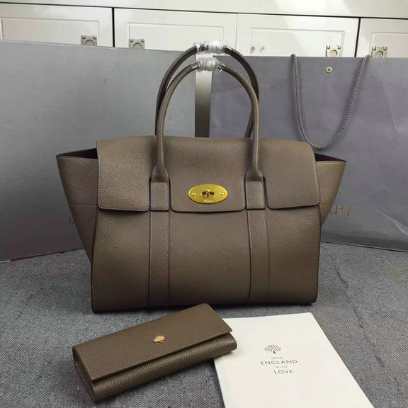 2016 A/W Mulberry New Bayswater Clay Natural Grain Leather