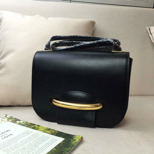 2016 A/W Mulberry Selwood Satchel Bag Black Crossboarded Calf Leather