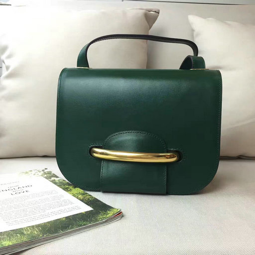 2016 A/W Mulberry Selwood Satchel Bag Emerald Crossboarded Calf Leather