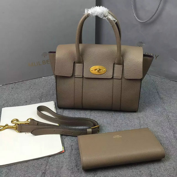 2016 A/W Mulberry Small New Bayswater Clay Natural Grain Leather