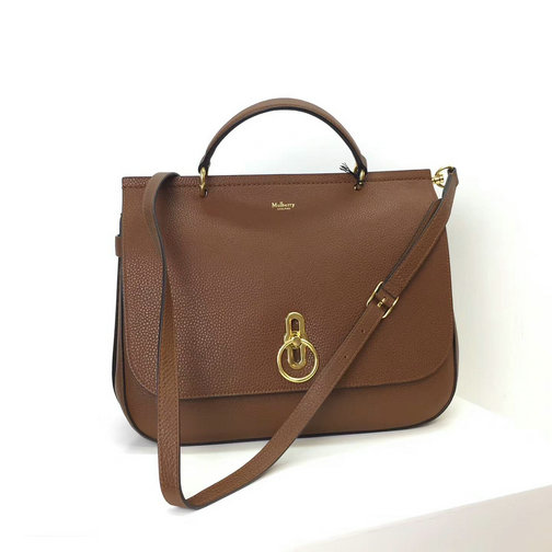 2017 Latest Mulberry Large Amberley Satchel Oak Small Classic Grain