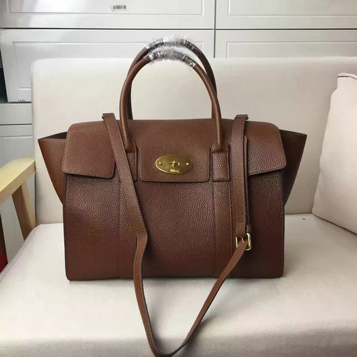 2017 Spring Mulberry Bayswater with Strap Oak Grain Leather