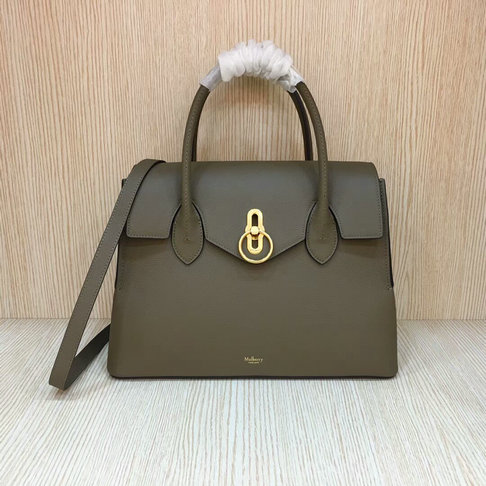 2018 New Mulberry Seaton Bag Clay Small Classic Grain Leather