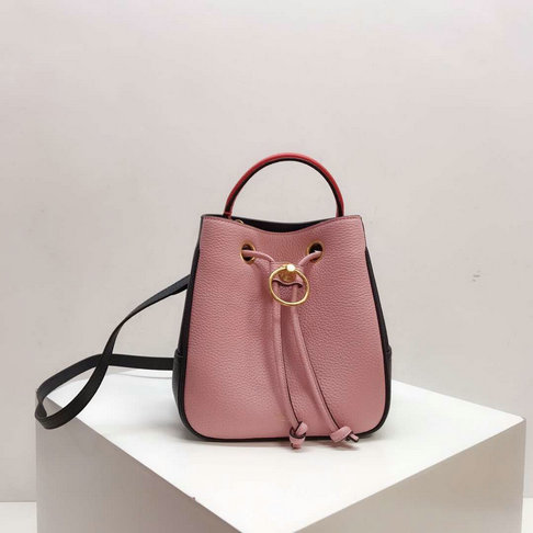 2019 Mulberry Small Hampstead Bucket Bag Multicolor Small Classic Grain