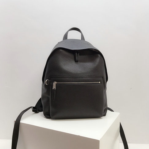 2019 Mulberry Zipped Backpack Black Small Classic Grain Leather