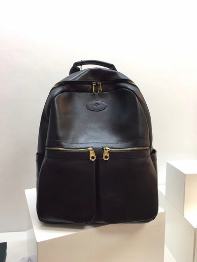 2019 Mulberry Henry Backpack in Black Leather