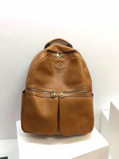 2019 Mulberry Henry Backpack in Oak Leather
