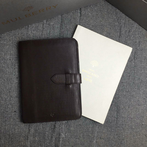 Cheap Mulberry iPad Mini Case in Chocolate Natural Leather