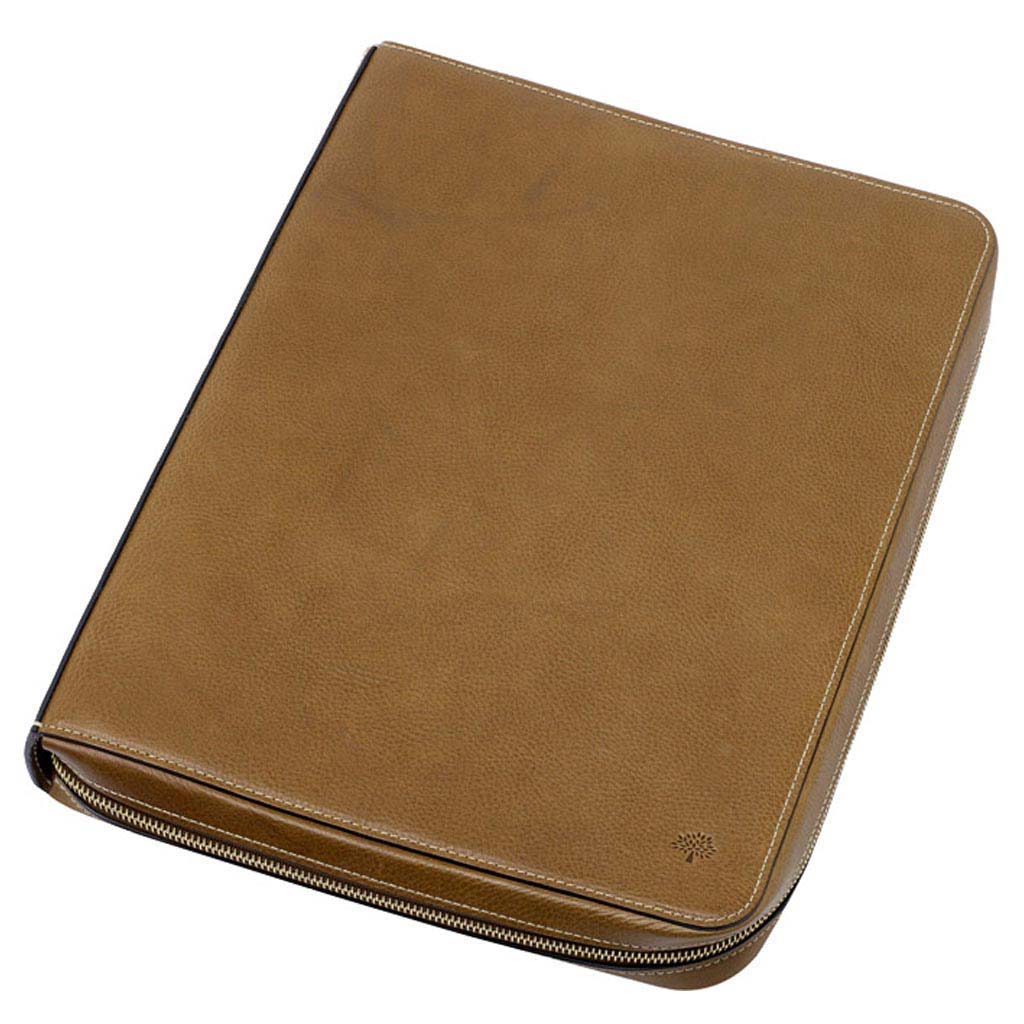 Free Gift for order amount over 300GBP-Mulberry Dan Document Folio Oak