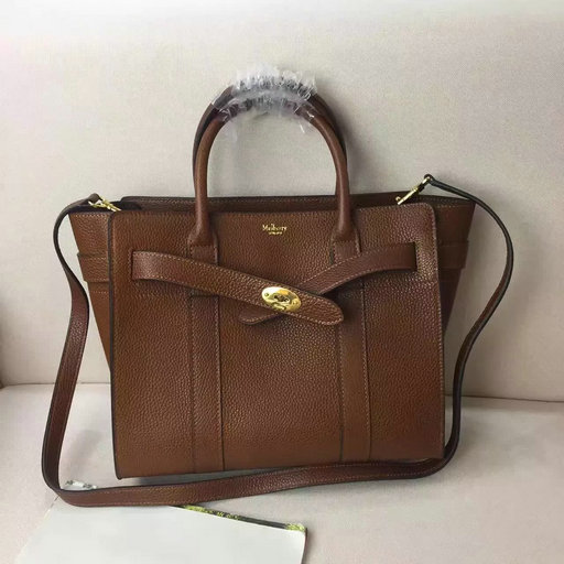 Winter 2016 Mulberry Small Zipped Bayswater Oak Small Classic Grain