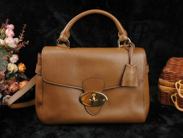 Mulberry Primrose Satchel Bag Classic Calf Leather 01