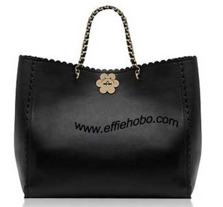 Mulberry Oversized Cecily Tote Black Leather