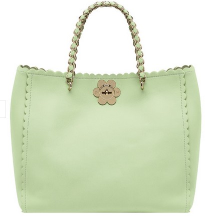 Mulberry Oversized Cecily Tote Mint Leather
