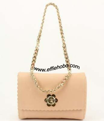 Mulberry Medium Cecily with Flower Nude Classic Calf Leather