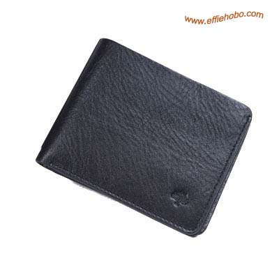Mulberry Mens Wave Lined 3 Card Wallet Black