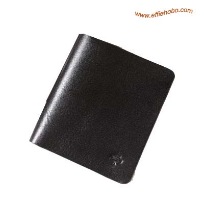 Mulberry Mens 3 Card Wallet Black